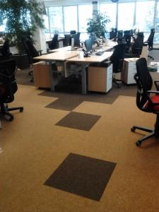 Pakeliamų grindų keitimas